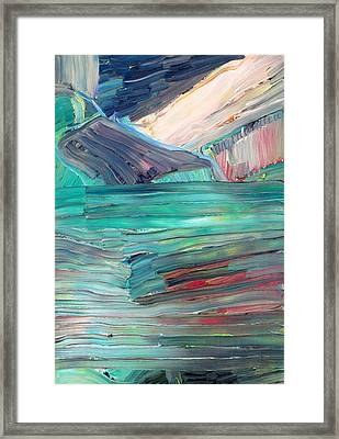 Landscape Framed Print by Fabrizio Cassetta