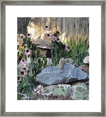 Framed Print featuring the photograph Landscape Formations by Minnie Lippiatt