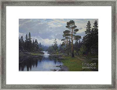 Landscape From Norway Framed Print