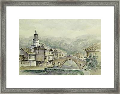 Landscape From Triavna  Framed Print by Milena Dimitrova