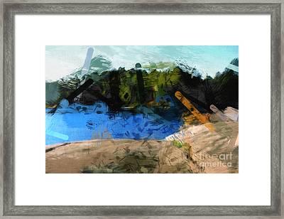 Landscape Impact Framed Print by Lutz Baar