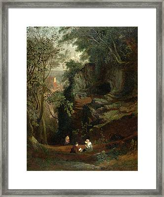 Landscape Near Clifton, Francis Danby, 1793-1861 Framed Print by Litz Collection