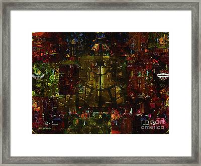 Landscape Of Hell Framed Print by RC deWinter