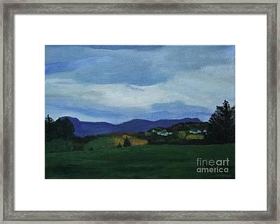 Landscape Of Sola Norway Framed Print