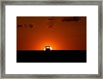 Landscape Photography Pendleton Oregon Framed Print