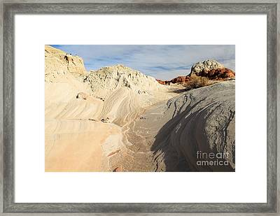 Landscape Swirls Framed Print by Adam Jewell