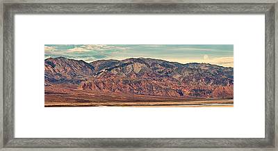 Landscape With Mountain Range Framed Print by Panoramic Images