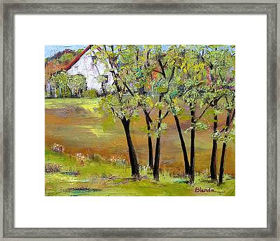 Landscapes Art - Hill House Framed Print