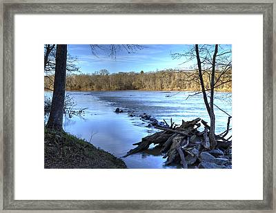 Landsford Canal-1 Framed Print by Charles Hite