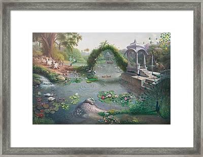 Landskape  Framed Print
