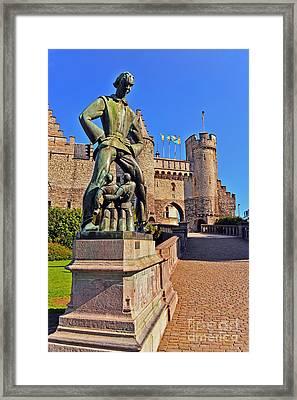 Lange Wapper Framed Print