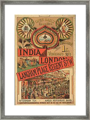 Langham Place Framed Print by British Library