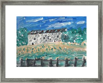 Languedoc Farm France Framed Print