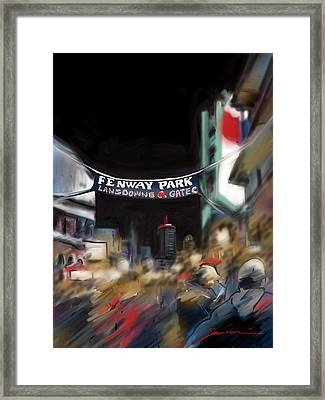 Lansdowne Street Framed Print