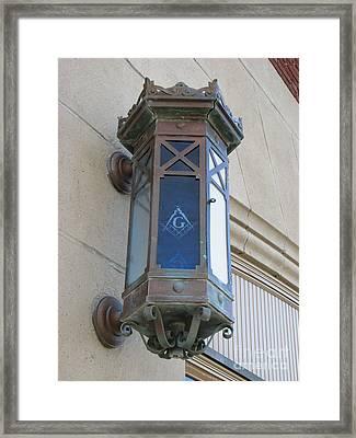 Lantern Of Secrets Framed Print