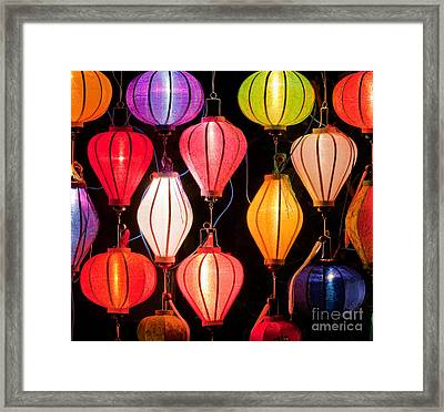 Lantern Stall 04 Framed Print by Rick Piper Photography