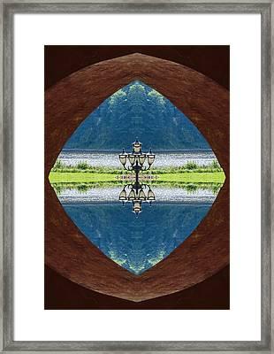 Lantern Framed Print by Yevgeni Kacnelson