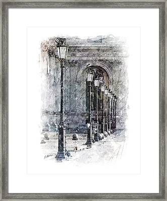 Lanterns Framed Print by Gary Bodnar