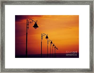 Lanterns Framed Print