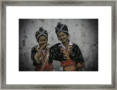 Lao Portraits 5 Framed Print by David Longstreath