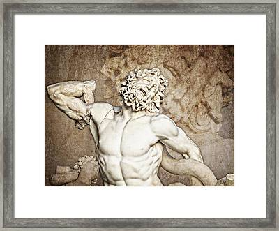 Framed Print featuring the photograph Laocoon by Joe Winkler