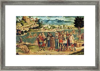 Laomedon Refuses Apollo And Poseidon Framed Print