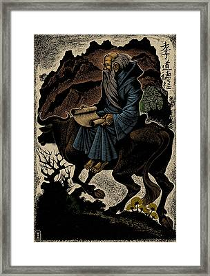 Laozi, Ancient Chinese Philosopher Framed Print by Science Source