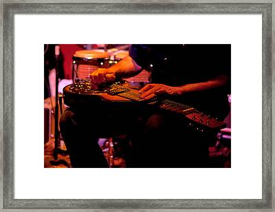 Lap Steel Framed Print