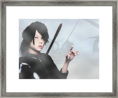 Lara Framed Print
