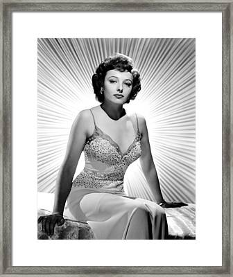 Laraine Day, 1942 Framed Print