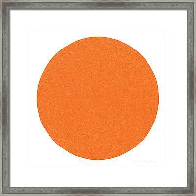 Laranja Framed Print by Dave Migliore
