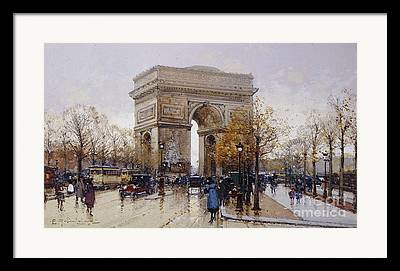 Architectural Feature Framed Prints