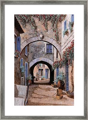 L'arco Del Diavolo Framed Print