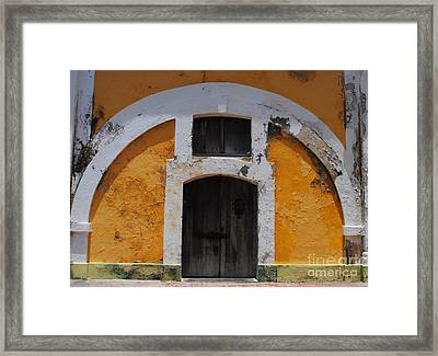 Large El Morro Arch Framed Print