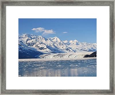 Large Glacier Framed Print by Larry Marano