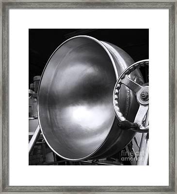 Large Industrial Wok Framed Print