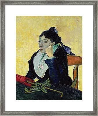 Larlesienne, 1888  Framed Print by Vincent van Gogh