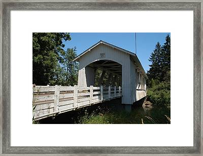 Larlwood Bridge Framed Print by Gene McKinley
