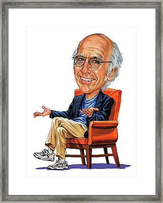 Larry David Framed Print