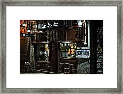 Las Descalzas - Madrid Framed Print by Mary Machare