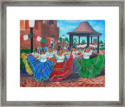 Las Fiestas Framed Print