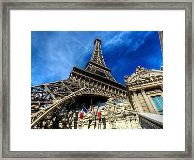 Las Vegas 021 Framed Print by Lance Vaughn