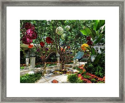 Las Vegas 048 Framed Print by Lance Vaughn