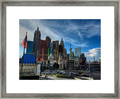 Las Vegas 051 Framed Print by Lance Vaughn
