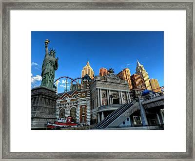 Las Vegas 068 Framed Print
