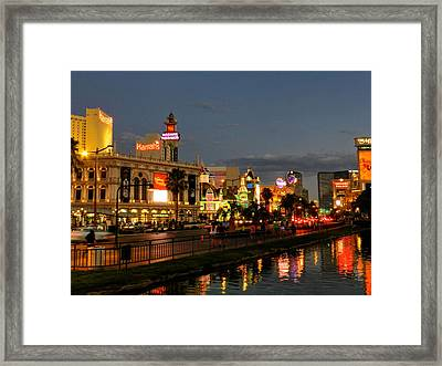 Las Vegas 36 Framed Print by Lance Vaughn