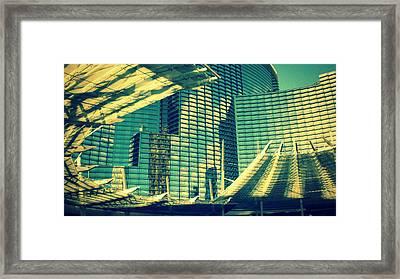 Las Vegas Architecture Framed Print