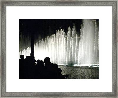 Las Vegas - Bellagio Casino - 121215 Framed Print by DC Photographer