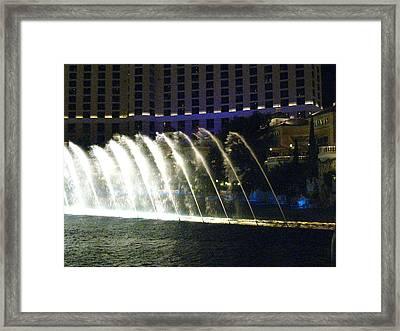 Las Vegas - Bellagio Casino - 121217 Framed Print