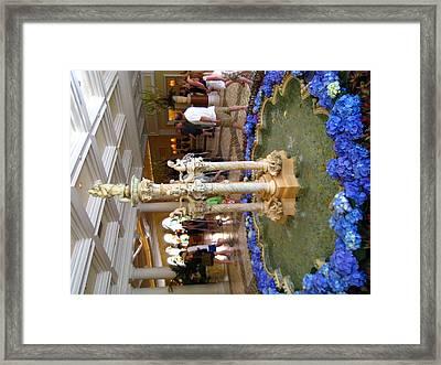 Las Vegas - Bellagio Casino - 12122 Framed Print by DC Photographer